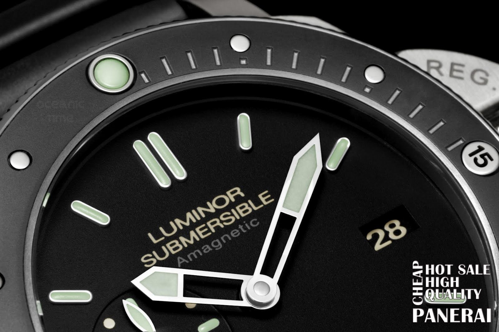 best panerai luminor submersible replica